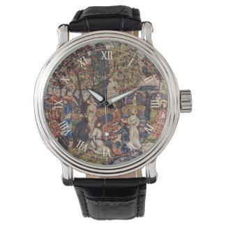 Herbst durch Maurice Prendergast, Vintage feine Uhr