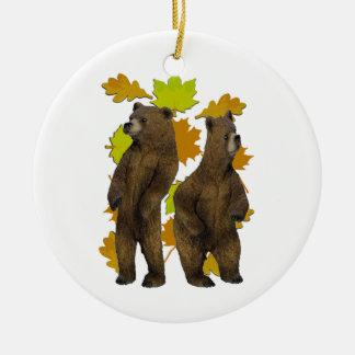 Herbst-Eile Keramik Ornament