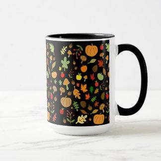 Herbst-Entwurf Tasse