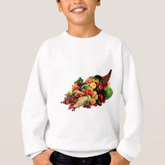 Herbst-Ernte-Fülle-Horn des viel-Falles Sweatshirt