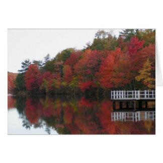 Herbst-Erntedank-Karte Karte
