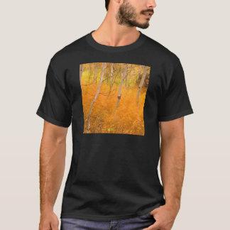 Herbst-Espen und Windblown Gräser Idaho T-Shirt