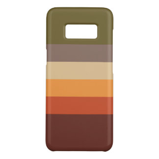Herbst-Farben - rotes orange Gelb TAN grünes Brown Case-Mate Samsung Galaxy S8 Hülle