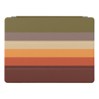 Herbst-Farben - rotes orange Gelb TAN grünes Brown iPad Pro Cover