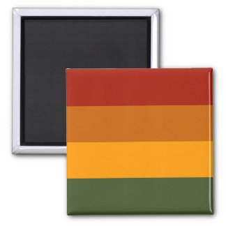 Herbst färbt kundenspezifischen Magneten Quadratischer Magnet