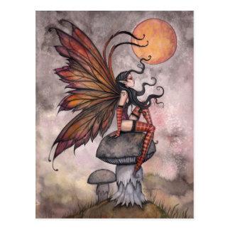 Herbst-feenhafte Postkarte durch Molly Harrison