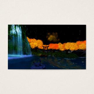 "Herbst flammt Visitenkarten, 3,5"" x2.0"", 100 Satz Visitenkarte"