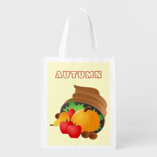Herbst-Fülle-Tasche Wiederverwendbare Einkaufstasche