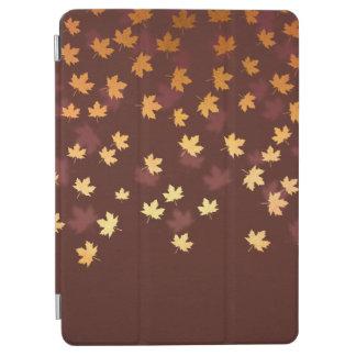Herbst-Gold verlässt Muster iPad Air Hülle