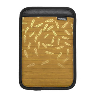 Herbst-Gold verlässt Muster Sleeve Für iPad Mini