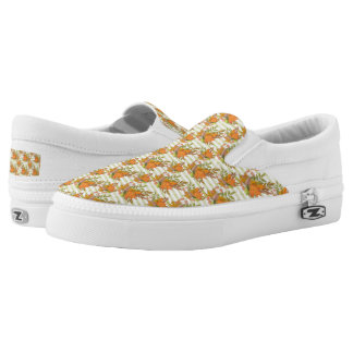 Herbst-handgemalte Illustration Slip-On Sneaker