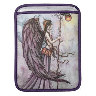 Herbst-helle gotische Fantasie-Fee-Kunst iPad Sleeve