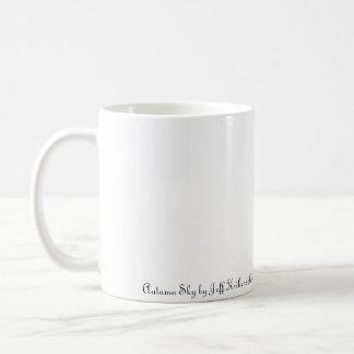 Herbst-Himmel Kaffeetasse