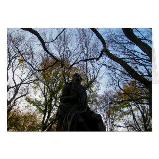 Herbst im Central Park Karte