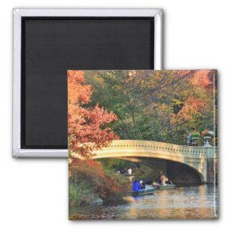 Herbst im Central Park: Kreissägen durch Quadratischer Magnet
