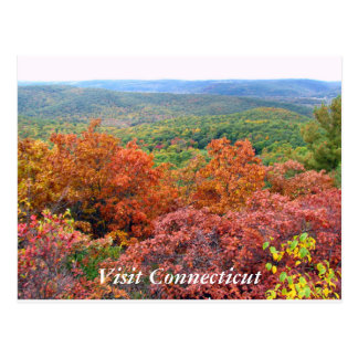 Herbst in Connecticut Postkarte