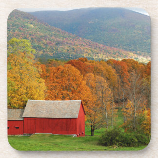Herbst in Vermont Getränkeuntersetzer