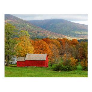 Herbst in Vermont Postkarte