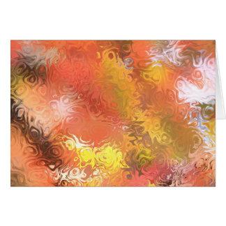 Herbst Jitterbug abstrakte Karte