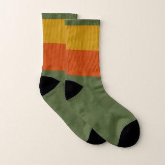 Herbst-kleine ganz vorbei - Druck-Socken Socken