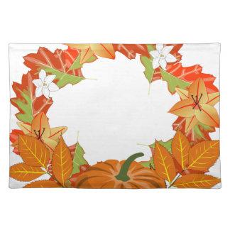 Herbst-Kranz Tischset