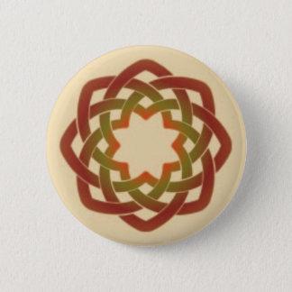 Herbst-Kreis Runder Button 5,1 Cm