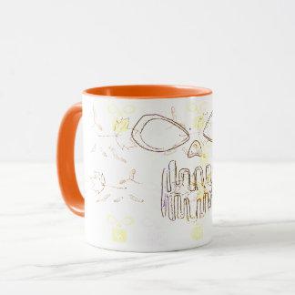 Herbst-Kunst Tasse