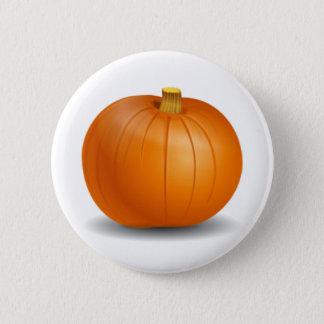 Herbst-Kürbis-Knopf Runder Button 5,7 Cm