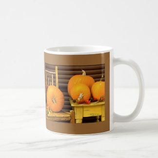Herbst-Kürbise Kaffeetasse