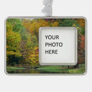 Herbst-Landschaft der sieben Rahmen-Ornament Silber