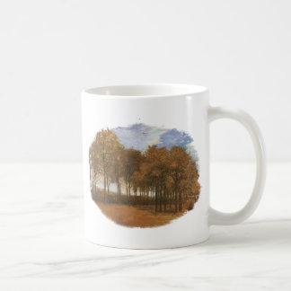 Herbst-Landschaft durch Vincent van Gogh Kaffeetasse