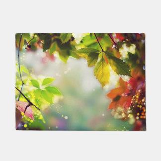 Herbst, Laub, Blätter, farbig Türmatte