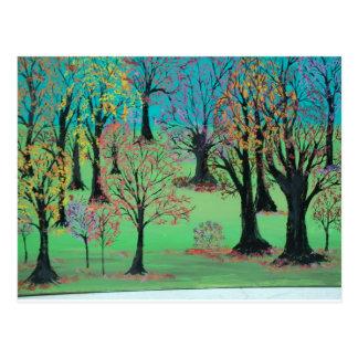 Herbst-Leckerei Postkarte