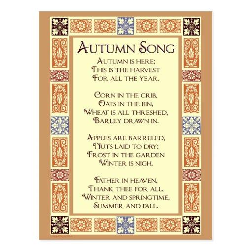 Erntedank Lied