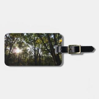 Herbst-Morgen an Shenandoah Nationalpark Kofferanhänger