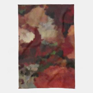Herbst-Mosaik-Aquarelle 2484 Handtuch