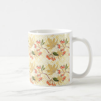 Herbst-Muster Kaffeetasse