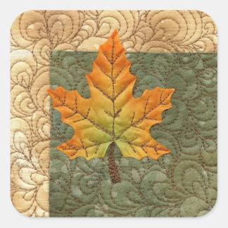 Herbst Quadratischer Aufkleber