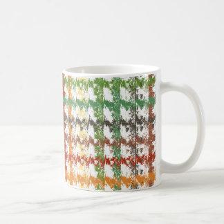 Herbst-Regenbogen-Kratzer Kaffeetasse
