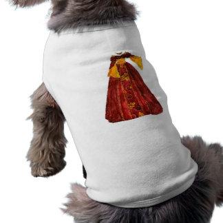 Herbst-Rot-Kleid Shirt