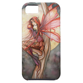 Herbst-rote feenhafte Fantasie-Kunst durch Molly iPhone 5 Etuis