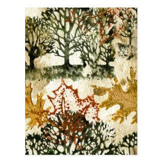 Herbst-Ruhm Postkarte