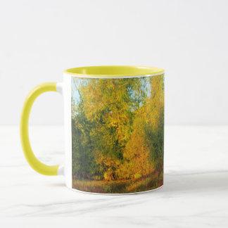 Herbst-Schönheits-Szene Tasse