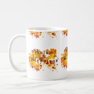 Herbst-Segen Kaffeetasse