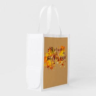 Herbst-Segen Wiederverwendbare Einkaufstasche
