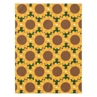 Herbst-Sonnenblume-Muster Tischdecke