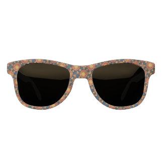 Herbst-Sonnendurchbruch-Muster Brille