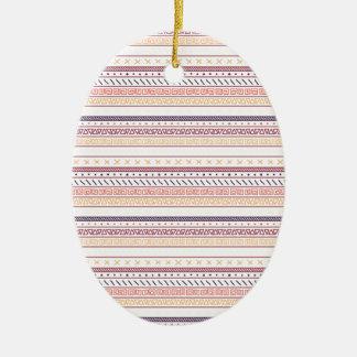 Herbst Stammes- Keramik Ornament