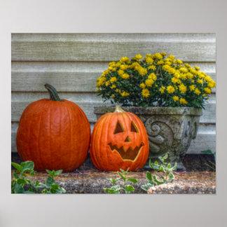 Herbst-Szene Poster