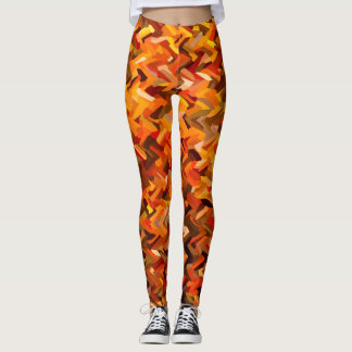 Herbst-Tarnung Leggings